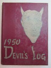 1950 DEVIL'S LOG - Sharpsville High School - Mercer PA