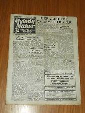 MELODY MAKER 1945 #645 DEC 1 JAZZ SWING HARRY HAYES LESLIE HUTCHINSON INGLEZ