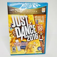 Just Dance 2016: Gold Edition (Nintendo Wii U, 2016) BRAND NEW SEALED