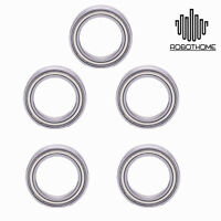 5PCS Ball Miniature Bearing Size 10*15*4mm 6701 61701ZZ 10x15x4mm