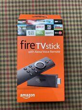 Amazon Fire TV Stick with Alexa Voice Remote NEW in Box