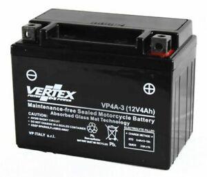New Sealed Battery Vertex VP4A-3 (YTX4L-BS)