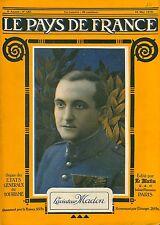 Portrait Georges Félix Madon Pilote de chasse As des As France/Douvres 1918 WWI