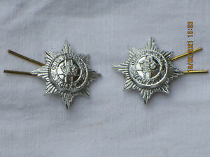 4th/7th Royal Dragoon Guards, RDG,Collar badges,Anodised Aluminium Staybright