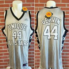 George Gervin #44 Spurs Unique All Stars Custom Mens Jersey Size 3XL New w/ Tags