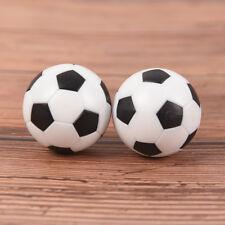 2 Pcs 32mm Foosball Table Football Plastic Soccer Ball Soccer ball Sport GiftsKK