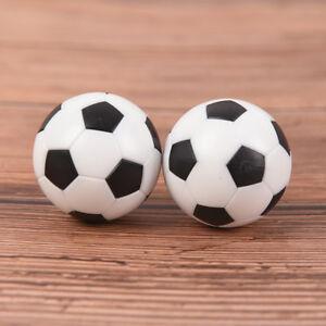 2 Pcs 32mm Foosball Table Football Plastic Soccer Ball Soccer ball Sport Gift.ar