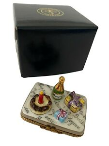 Chamart Limoges Box - Gifts Cake Champagne Celebration