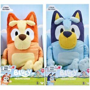 "BLUEY & BINGO TALKING PLUSH SET 13 "" Stuffed Animals"
