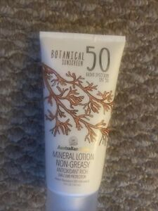 Australian Gold Botanical Sunscreen SPF 50 Non Greasy Mineral Lotion 5 Fl Oz New