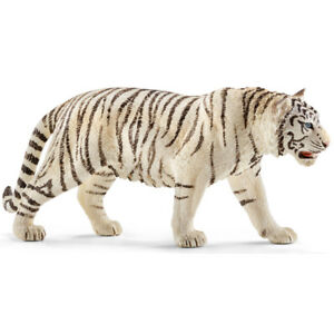 Schleich White Tiger Figure 14732  Wild Life Collectable Animal Series Ages 5-8