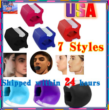 HOT Jawline Exerciser Top Jaw line Exercise Fitness Ball Neck Face Toning Jaw