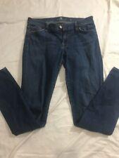 7 Seven For All Mankind Skinny Jean Dark Blue Size 28 EUC