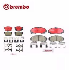 Front and Rear Honda Accord Acura CL TL TSX Disc Brake Pad Brembo