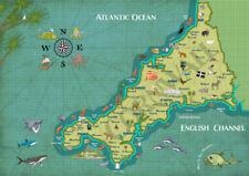 Illustration Art Map Art Prints