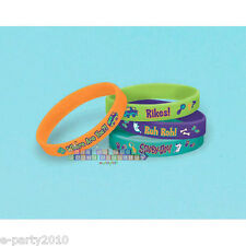 SCOOBY-DOO WHERE ARE YOU RUBBER BRACELETS (4) ~ Birthday Party Supplies Favors