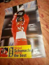 OMP Michael schumacher poster: F1/race/trackday/motorsport