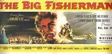 """Howard Keel """"BIG FISHERMAN"""" Susan Kohner / Martha Hyer 1959 Ticket Order Form"""