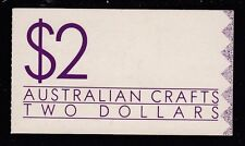 Australia 1988 Australian Crafts Original Booklet ($2.00) - B156