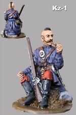 Figurine Tin Metal Toy Soldiers Ukrainian Cossack 1/32 Smoke Man Painted 54mm