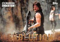 DARYL DIXON (Norman Reedus) / Walking Dead Evolution BASE Trading Card #20