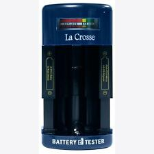Portable Rechargeable Alkaline  AAA AA C D 9 Volt Ni MH Ni CD Battery Tester