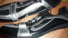 NIKE ZOOM RIVAL S BOWERMAN Shoes BLACK SILVER UK 14 USA 15 Sport Trainers RARE!!