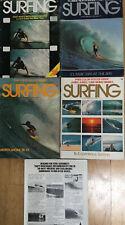 Surfing Magazine 1977 Vintage 5 Issues Surfer Longboard