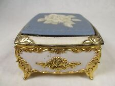 Vintage San Francisco Music Box Company Trinket Box ~Japan ~You Light up My Life