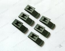 1956 1957 Lincoln Window / Seat Switch Clips (6) FREE SHIPPING