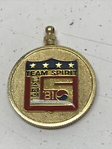 Team Spirit Pepsi 1984 Key Chain President Republic Korea Military Army KG
