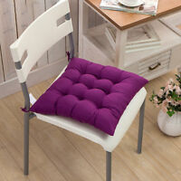 Soft Plush Indoor Dining Garden Patio Home Kitchen Office Chair Seat Pad Cushion