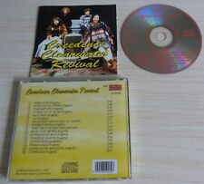 "CD ALBUM ""exitos"" CREEDENCE CLEARWATER REVIVAL 16 TITRES 1995 GREEN RIVER LODI"