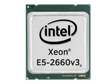 Intel Xeon E5-2660v3 Deca Core CPU 2.6GHz, 25MB Cache, SR1XR
