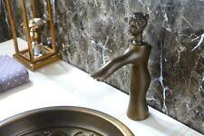 Antique bronze Bathroom washbasin Sink Beauty Faucet Luxury Mixer Tap deck mount