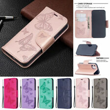 Leather Wallet Case For iPhone 12 Pro Max 11 X Xr 8 7 6 Plus Magnetic Flip Cover