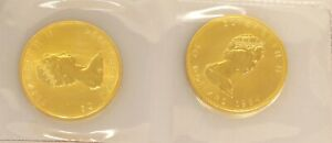 2 Canadian Gold $50 Maple Leaf 1-Ounce Coins