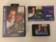 Sega Mega Drive Spiel True Lies CIB / OVP Sammlungsauflösung