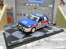 RENAULT 11 Turbo Gr.A Rallye Monte Carlo 1987 #3 Ragnotti Phili IXO Altaya 1:43