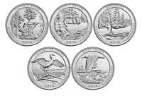 2018 National Park Quarters - Complete 10 Quarter P&D Set - US Mint **IN HAND**