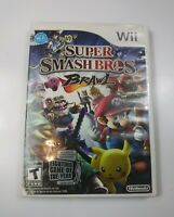 Super Smash Bros Brawl Nintendo Wii Game Pre Owned Tested Working