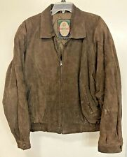 Vintage Members Only Jacket Leather Bomber Coat Winter Size XL Hard_8s_Magic