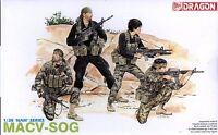 Dragon 1/35 3306 US MACV-SOG (Vietnam War) (NAM Series) (4 Figures)