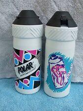 2x New Water Bottle Bidon Polar athermic velomann alimentaire 500 ml