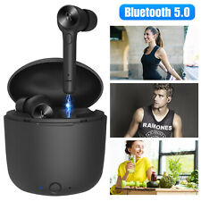Tws Mini Wireless Bluetooth In-Ear Headset Earbuds Stereo Sport Dual Headphone