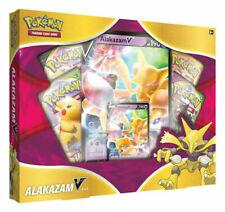 Pokemon Alakazam V Box - 4 Packs