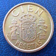 1989 Spain 100 Pesetas - Juan Carlos I