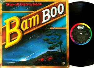Bam Boo – Stop All Distractions LP 1985 Capitol Records Canada – st-6519