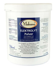 Makana Elektrolyt 1 kg Pulver in der Dose, Pferd, Mineralbedarf