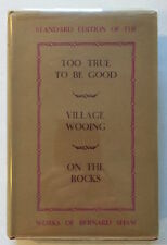 Too True To Be Good, Village Wooing, On The Rocks Signed by Lillian Gish & Cast